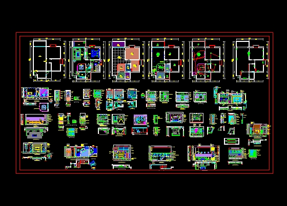 Home Complete Working Drawings Free Download Autocad