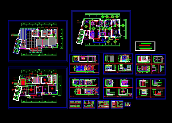 A model for drawing room decoration Free download AutoCAD