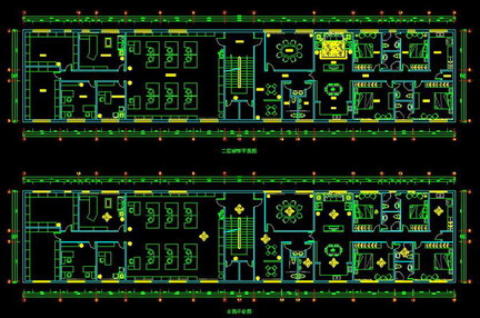 Office cad drawings full decoration free download autocad for Office design dwg