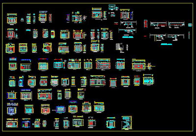 Interior Elevation Free Download Autocad Blocks Cad
