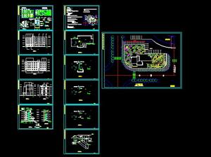 Museum decoration design drawings Free download AutoCAD Blocks --cad