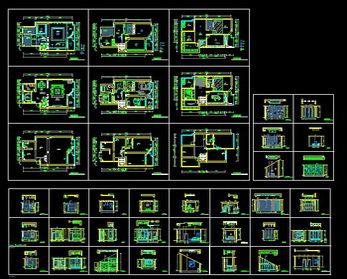 Interior design cad plan drawing free download autocad blocks cad