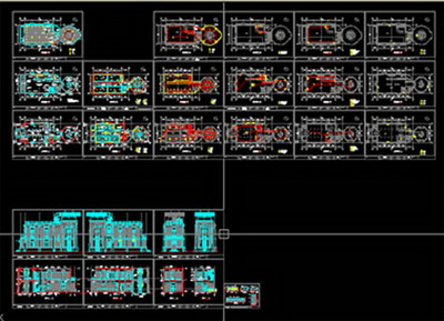 Bar Cad Drawings Flat Facade Transform Free Download