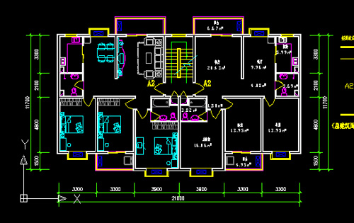Ordinary residential building design cad drawings free for Residential building drawings download