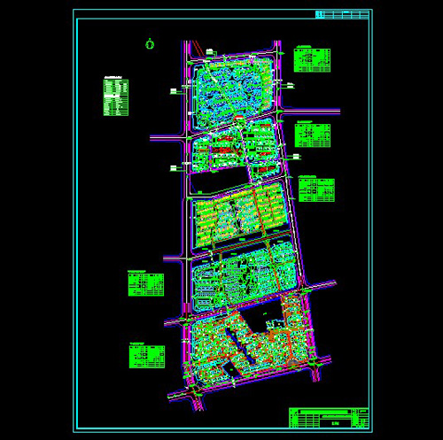Advanced residential planning CAD drawings