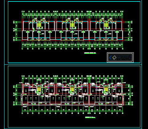 Cad Design Of Residential Building Construction Plans Free
