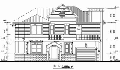 Two Story Luxury Villa Full Set Cad Drawings Free Download