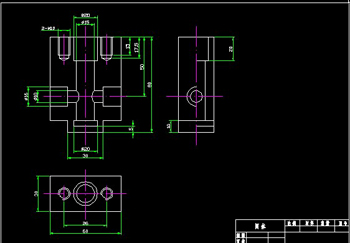 Valve body CAD drawings-2
