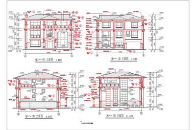 Single Family Luxury Villa Construction Plans Free