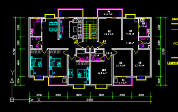 Ordinary Residential Building Design Cad Drawings Free