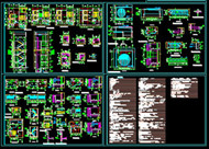 High-rise buildings CAD design