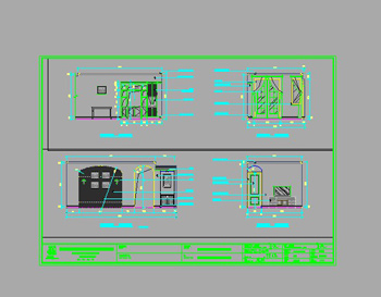 Sample rooms CAD drawings