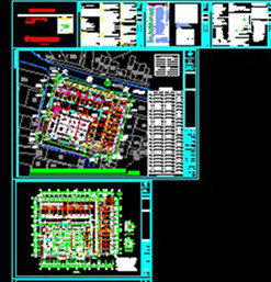 The market Architectural CAD drawings