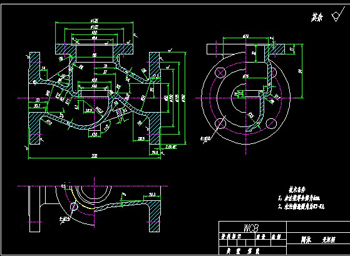 Valve Body Cad Drawings 3 Free Download Autocad Blocks