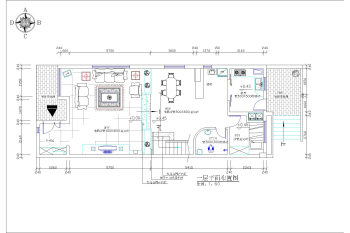 Vanke wonderland villa decoration construction plans free for Residential building drawings download