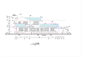 Chinese classical villa construction plans