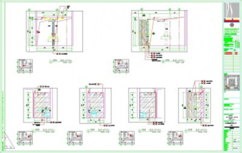 Theme hotel style CAD drawing