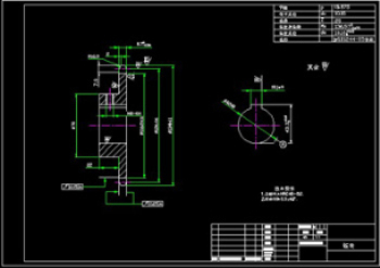 The sprocket CAD drawings