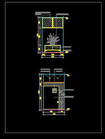 Indoor entrance cad Atlas