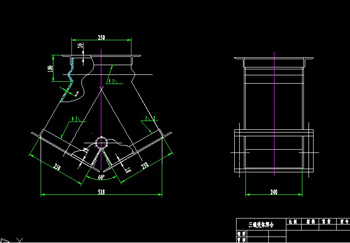 Tee shell welding CAD drawings