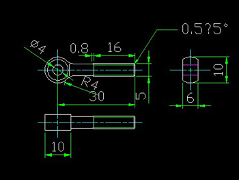 Live bolts CAD drawings