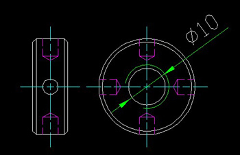 Control source nut side CAD drawings