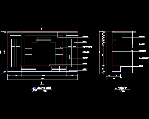 Wall Art Autocad Block : Tv design and construction of the wall map for free
