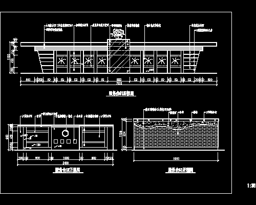 Desk bar drawings download free download autocad blocks - Divanetti bar dwg ...