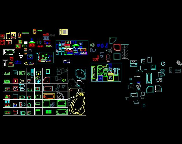 Life short landscape design 2d blocks for Autocad 2d bathroom blocks free download