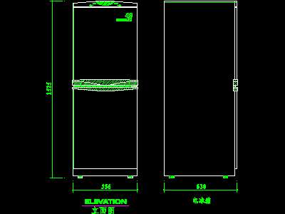 Household Appliances Block 002 Free Download Autocad