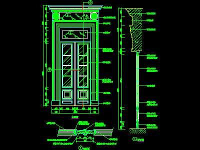 Gate Block 007 Free Download Autocad Blocks Cad