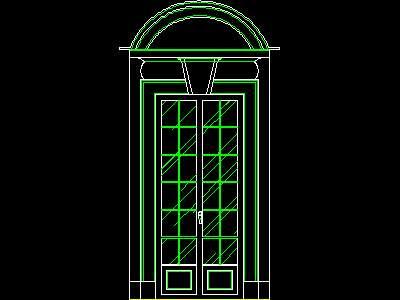 Free download program sliding door section autocad block for Sliding glass doors cad