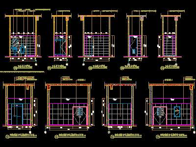 Shower cad block | Cad & Autocad blocks